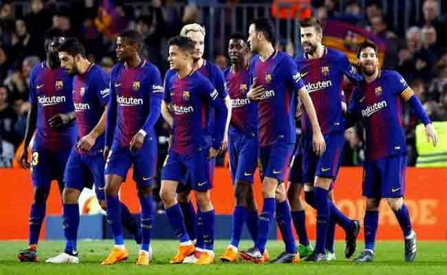 برشلونة يتخلص من 7 لاعبين