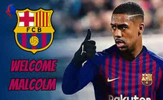 برشلونة يتعاقد مع البرازيلي مالكوم