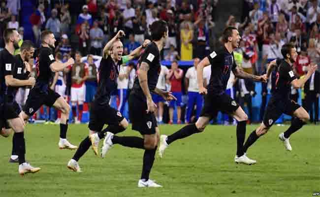 كرواتيا تتأهل للنصف النهائي