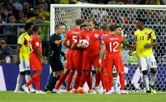 المنتخب الانجليزي يجاوز كولومبيا