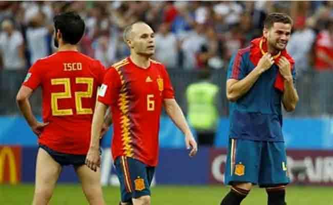 روسيا تقصي إسبانيا من المونديال