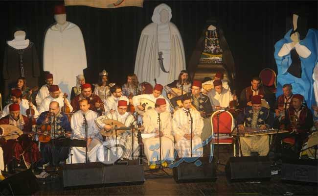 فرقة الفخارجية تختتم الدورة الثامنة عشر من مهرجان الأندلسيات بتيبازة