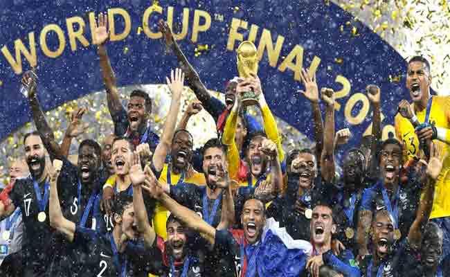 فرنسا تفوز بكأس العالم