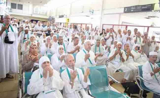 يوم 25 يوليو القادم هو موعد أول رحلة للحجاج الجزائريين إلى البقاع المقدسة