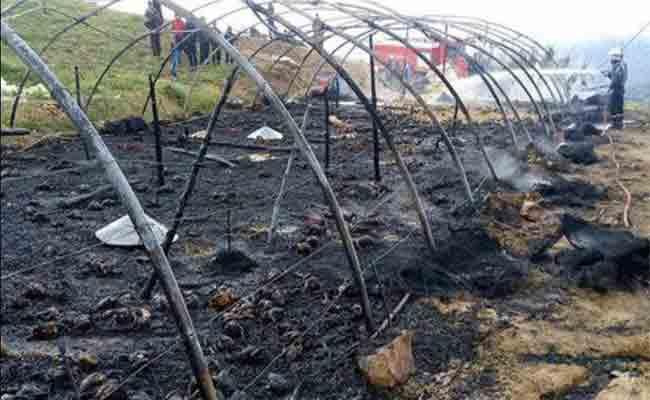 مقتل 12 ألف دجاجة على إثر نشوب حريق بمستثمرة فلاحية في بلعباس