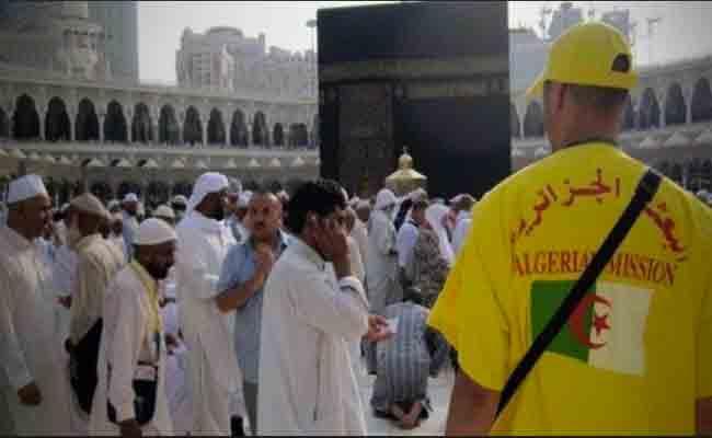دعوة الحجاج الجزائريين إلى