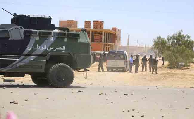 إدانة جزائرية للإعتداء الإرهابي بمحافظة جندوبة التونسية