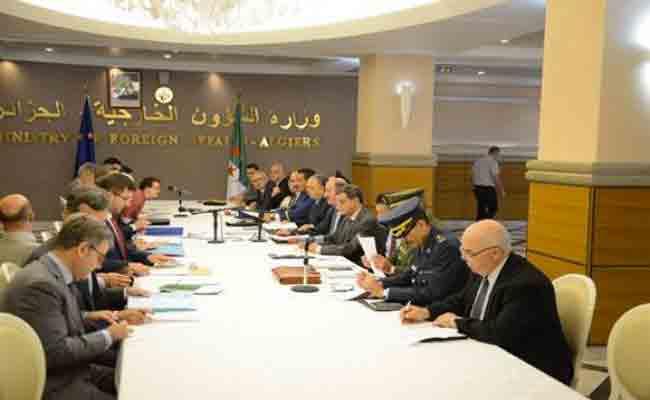 انطلاق أشغال اجتماع حول الأمن الإقليمي و مكافحة الإرهاب بين الجزائر و الاتحاد الأوروبي