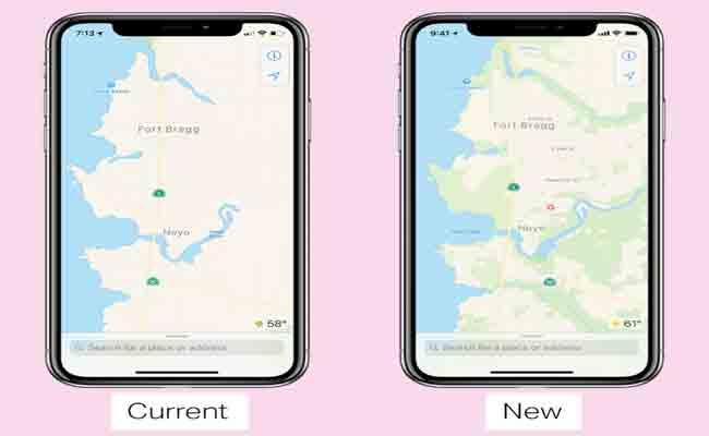 نسخة جديدة من Apple Maps هي الآن متوفرة على النسخة بيتا من نظام iOS 12