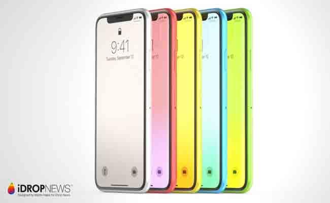 الإصدارات الجديدة من هواتف أي فون يجب أن تصل في 6 ألوان مختلفة