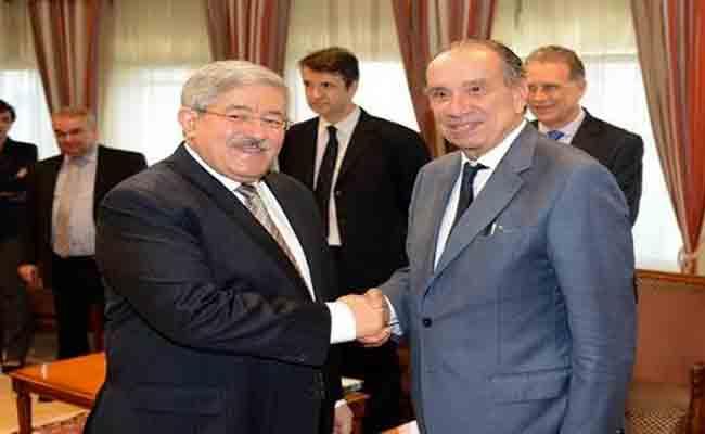 استقبال أويحيى لوزير العلاقات الخارجية البرازيلي