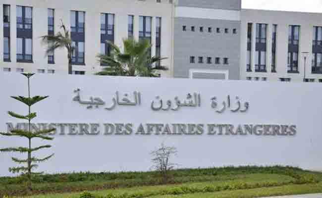 الخارجية توضح قضية توقيف جزائريين بروسيا