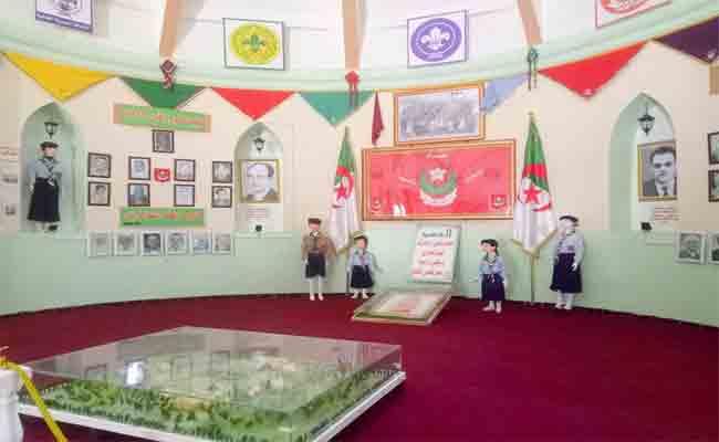 افتتاح المتحف البلدي  للكشاف بولاية الجلفة