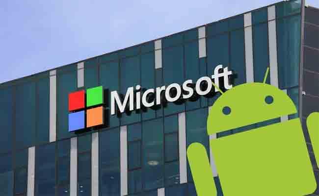 هاتف ذكي تحت أندرويد من مايكروسوفت؟