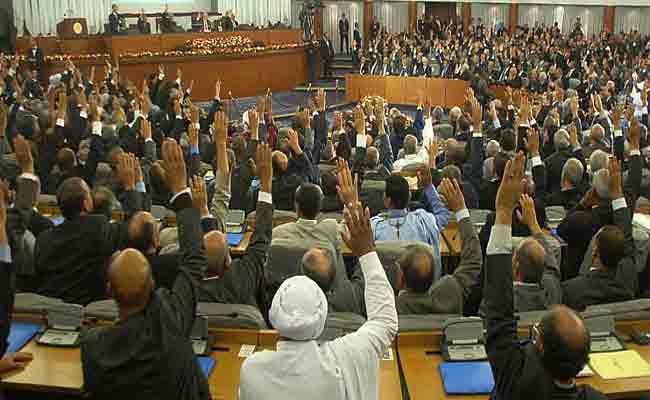 مصادقة أعضاء المجلس الشعبي الوطني على قائمة نواب رئيس المجلس
