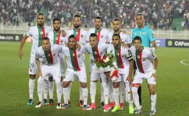 مولودية الجزائر يتعادل مع مازيمبي