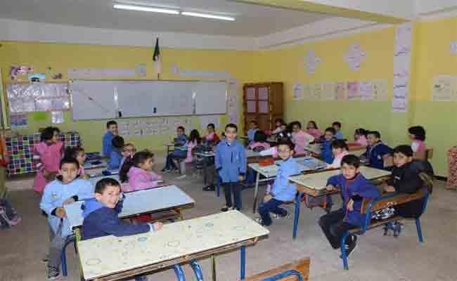 تقليص عدد التلاميذ بأقسام  المدارس الابتدائية مستقبلا