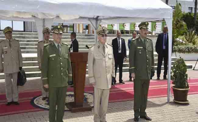 تنصيب العميد غالي بلقصير قائدا جديدا للدرك الوطني خلفا للواء مناد نوبة