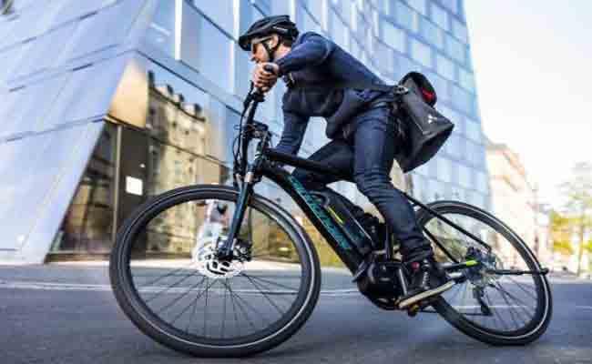 دراجة كهربائية تعدن لك عملة افتراضية عند استعمالها