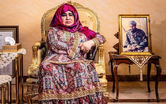 والدة زعيم تنظيم القاعدة هذا كان أسامة قبل أن يغيروه