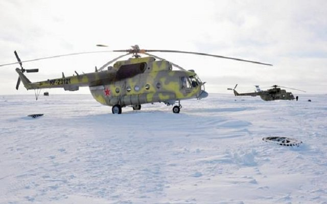 تحطم هليكوبتر في سيبيريا