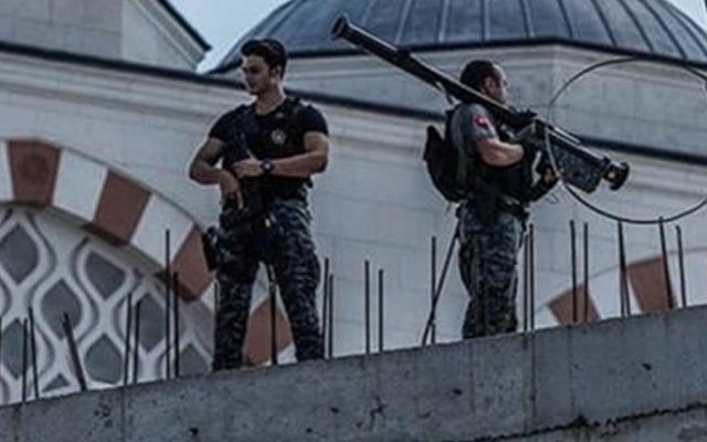 بعد محاولة اغتيال رئيس فنزويلا بدرون مضاد طائرات بيد حرس أردوغان