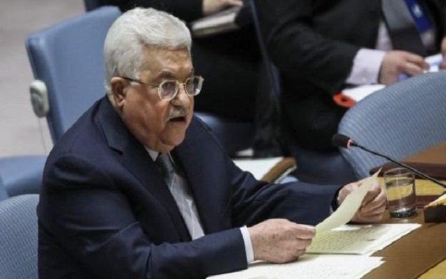 محمود عباس سنسقط صفقة القرن