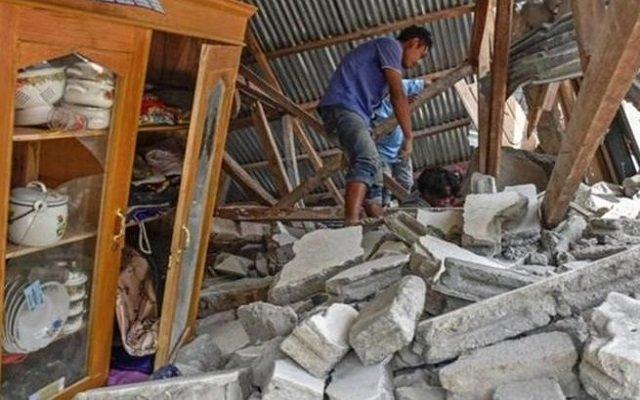 عريس يعقد قرانه خلال وقوع زلزال
