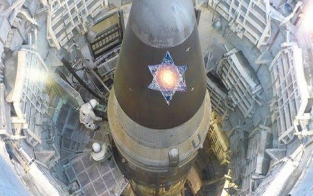 من وسط مفاعل نووي  نتنياهو يهدد إيران