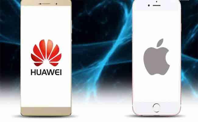 هواوي تتجاوز أبل لتحتل المرتبة الثانية كأكبر مسوق للهواتف الذكي