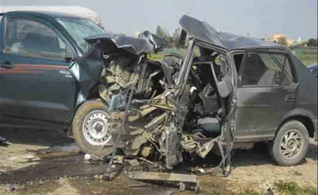 مجزرة مرورية تخلف 6 قتلى و جريحين بولاية الإليزي