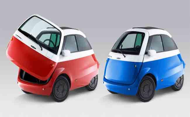 ميكرو موبيليتي تحول سيارة قديمة من IBM إلى سيارة كهربائية