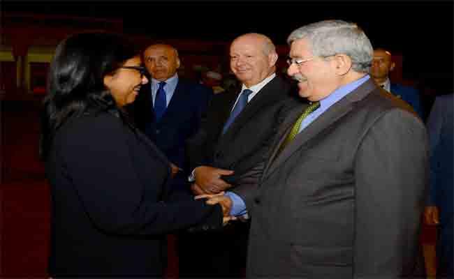 نائبة رئيس فنزويلا تختم زيارتها للجزائر بعد توقف تقني