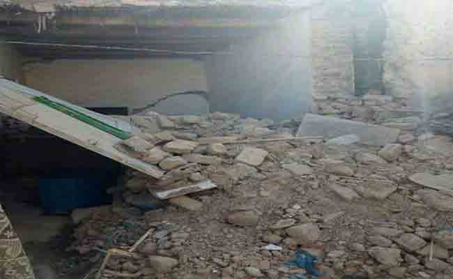 سقوط جزء من بيت يخلف مقتل رضيع ببوسعادة بالمسيلة