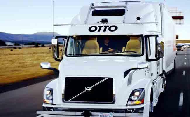 أوبر تتخلى عن مشروعها المتعلق بالشاحنات المستقلة