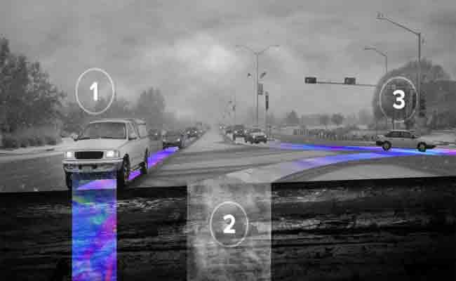 تكنولوجيا لمساعدة المركبات المستقلة على السير فوق الثلوج
