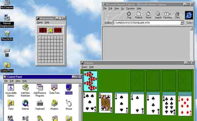 ويندوز 95 متوفر الآن على نظام الماك، لينكس ووندوز 10