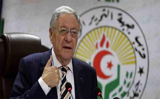 ولد عباس : حزب جبهة التحرير الوطني