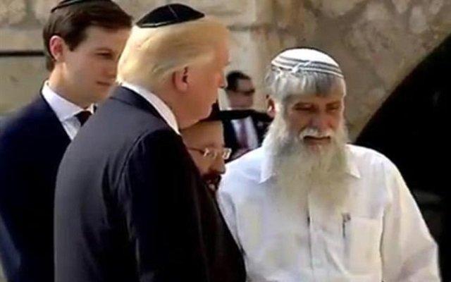 اليهود لترامب عليك ألا تتكلم وأن تسمع