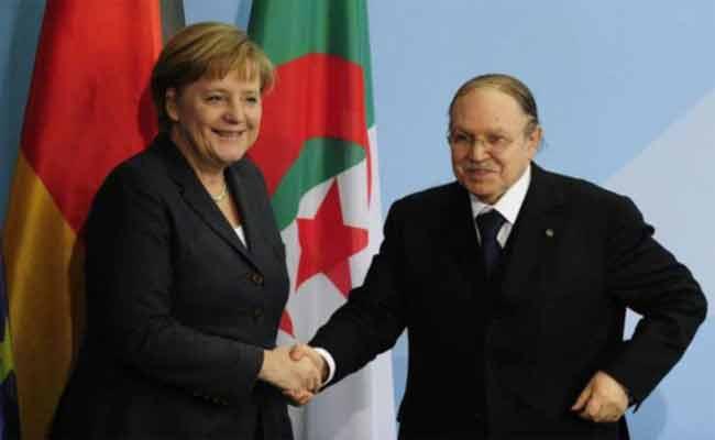 بوتفليقة يبعث برقية لميركل يؤكد لها أن زيارتها الأخيرة للجزائر وضعت لبنات جديدة للشراكة