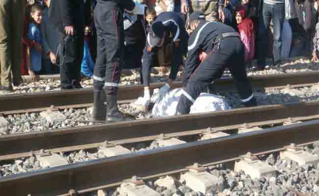 قطار كهربائي يدهس امرأة و رضيعها بالبليدة