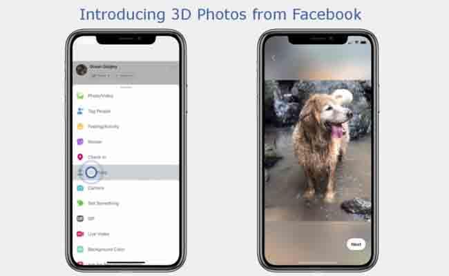 فيسبوك تقدم أخيرا إمكانية تحويل صورك إلى صور 3D