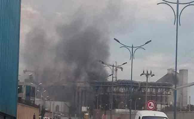 اندلاع حريق بالمركب الفلاحي الصناعي لسفيتال ببجاية