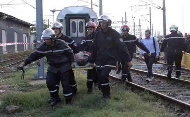 مقتل كهل دهسه قطار ببلدية قجال بسطيف