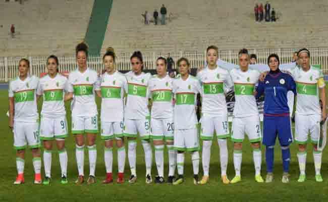 المنتخب النسوي في مجموعة قوية
