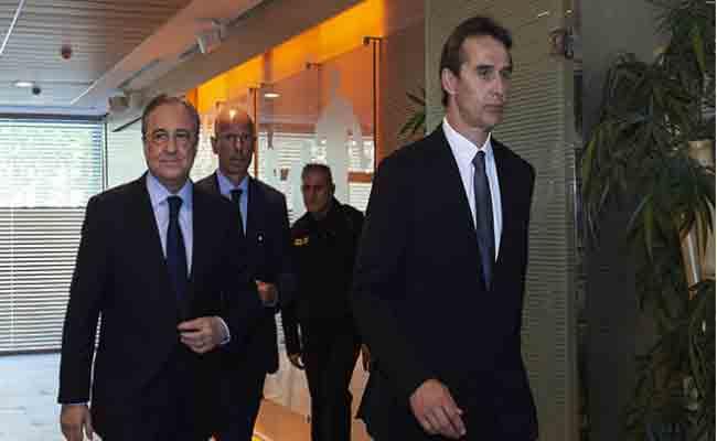ريال مدريد يفاوض مدرب جديد