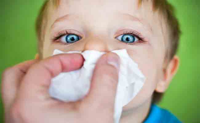 ما هو علاج حساسية الانف عند الاطفال؟