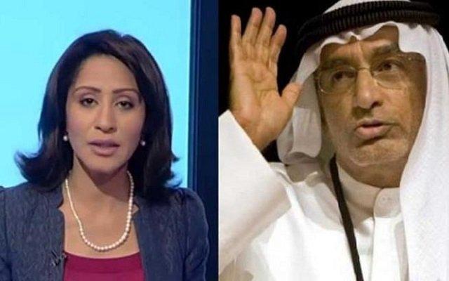 أفلا يتعظون مستشار ولي عهد أبو ظبي يهدد إعلامية بالمنشار