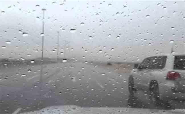 نزول أمطار معتبرة شرق الوطن