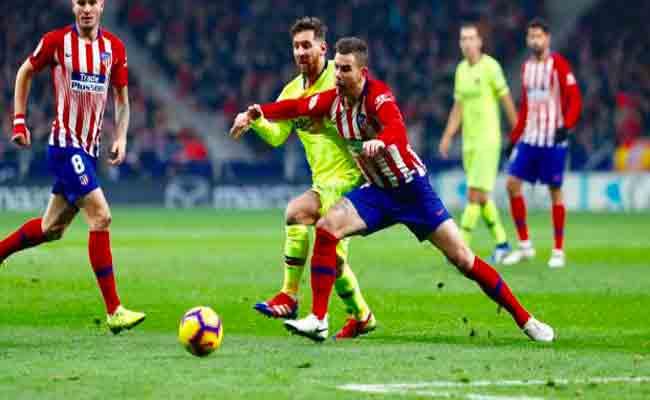 برشلونة يتعادل مع الأتلتيكو
